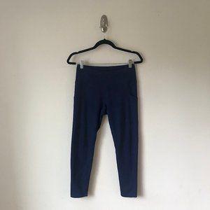 Z by Zella Crop Yoga Workout Pants Navy Blue M